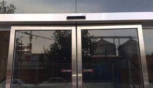 در اتوماتیک ، درب اتوماتیک شیشه ای