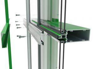کرتین وال , نمای شیشه ای کرتین وال ، کرتینوال ، نمای کرتین وال ، نمای شیشه ای