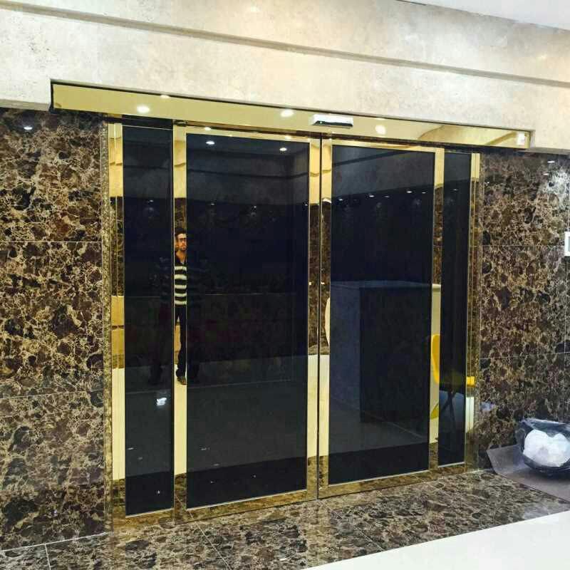 درتک | درب اتوماتیک | نمای شیشه ایی | درب پنجره دوجداره