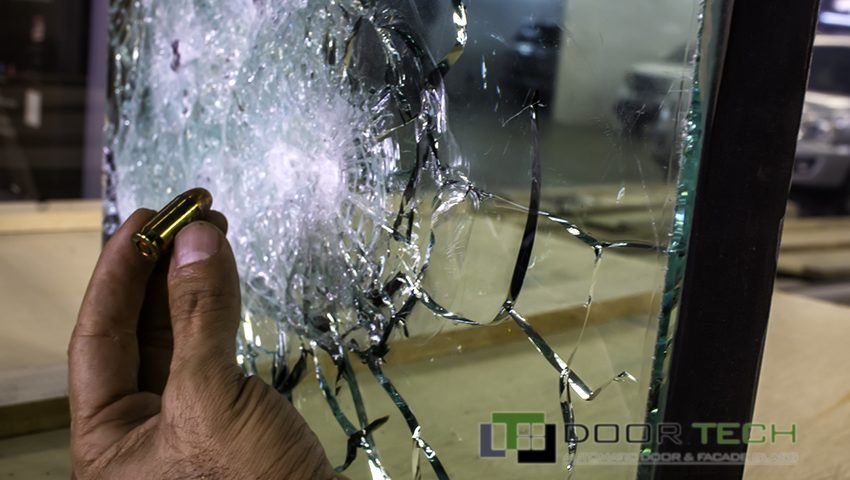 شیشه ضد گلوله ، شیشه لمینیت
